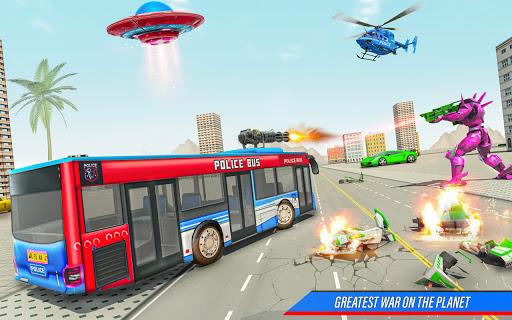Bus Robot Car Transform War Spaceship Robot game v5.5 screenshots 4