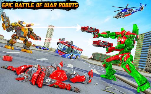 Bus Robot Car Transform War Spaceship Robot game v5.5 screenshots 5