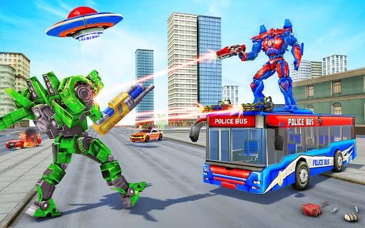 Bus Robot Car Transform War Spaceship Robot game v5.5 screenshots 6