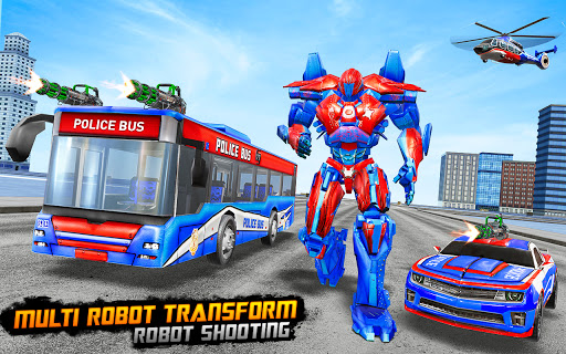 Bus Robot Car Transform War Spaceship Robot game v5.5 screenshots 7