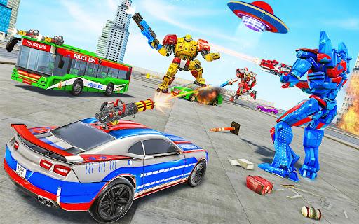 Bus Robot Car Transform War Spaceship Robot game v5.5 screenshots 8