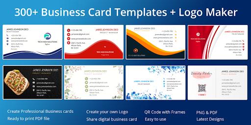 Business Card Maker Free Visiting Card Maker photo v9.0 screenshots 1
