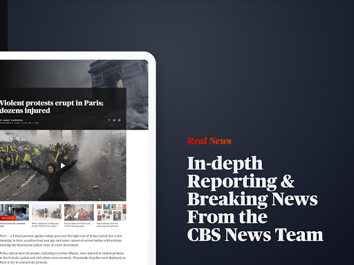 CBS News – Live Breaking News v4.3.1 screenshots 9
