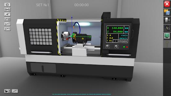 CNC Simulator Free v1.1.8 screenshots 1