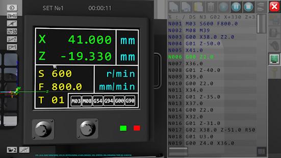 CNC Simulator Free v1.1.8 screenshots 3