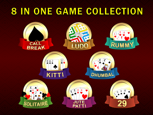Callbreak Ludo Rummy 29 amp Solitaire Card Games v2.8 screenshots 17