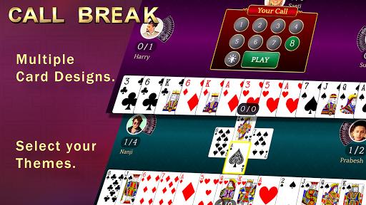 Callbreak Ludo Rummy 29 amp Solitaire Card Games v2.8 screenshots 2
