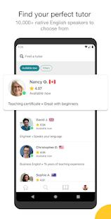 Cambly – English Teacher v4.2.0 screenshots 2