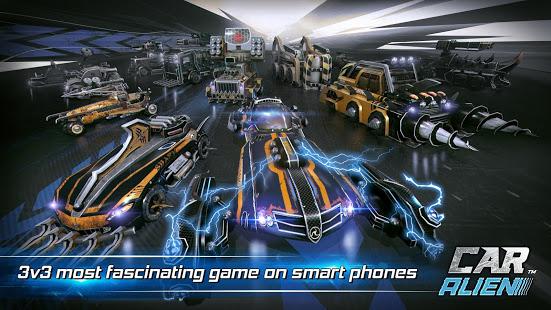 Car Alien – 3vs3 Battle v1.0.9 screenshots 8