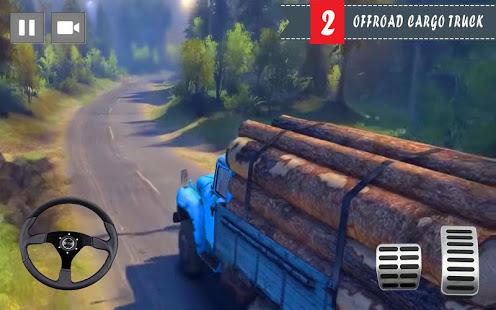 Cargo Truck Driver 2021 – Truck Driving Simulator v screenshots 2