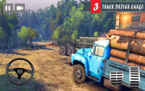 Cargo Truck Driver 2021 – Truck Driving Simulator v screenshots 3