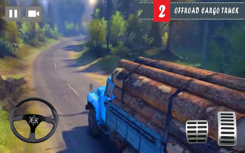 Cargo Truck Driver 2021 – Truck Driving Simulator v screenshots 6