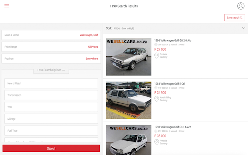 Cars.co.za v3.4.7 screenshots 13