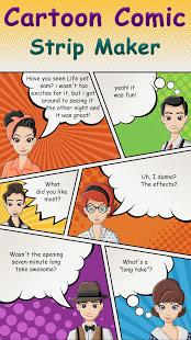 Cartoon Comic Strip Maker v1.8 screenshots 1
