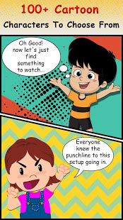 Cartoon Comic Strip Maker v1.8 screenshots 2
