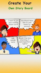 Cartoon Comic Strip Maker v1.8 screenshots 4