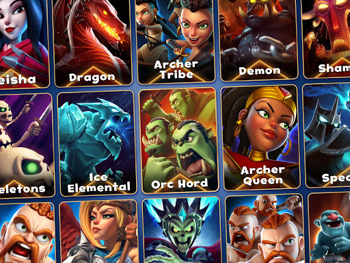 Castle Crush Epic Battle – Free Strategy Games v screenshots 4