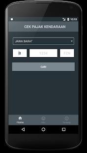 Cek Pajak Kendaraan v0.4.3 screenshots 2