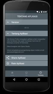 Cek Pajak Kendaraan v0.4.3 screenshots 6