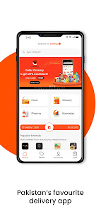 Cheetay Pakistans Favourite Delivery App v3.12.2 screenshots 2