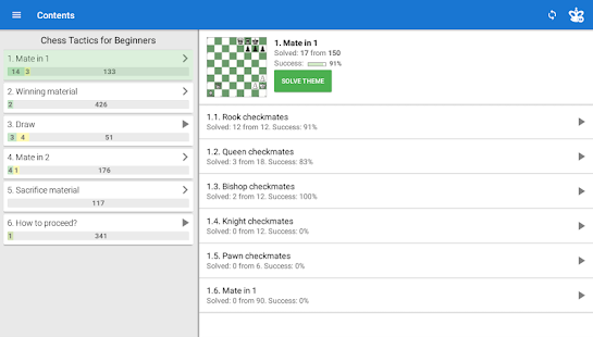Chess Tactics for Beginners v screenshots 7