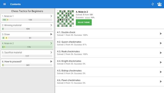 Chess Tactics for Beginners v screenshots 8