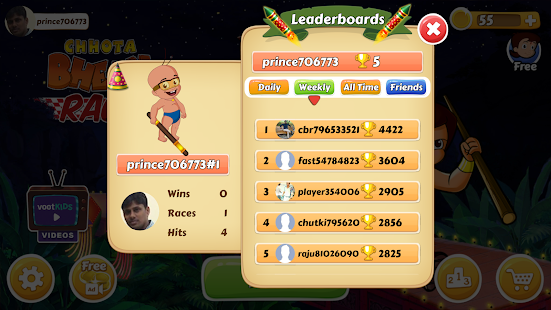 Chhota Bheem Race Game v2.3 screenshots 5