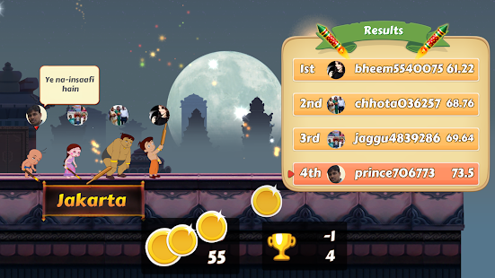 Chhota Bheem Race Game v2.3 screenshots 8