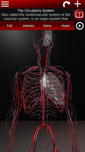 Circulatory System in 3D Anatomy v1.58 screenshots 1