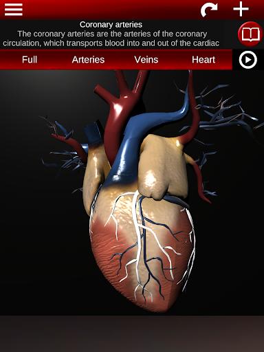 Circulatory System in 3D Anatomy v1.58 screenshots 10