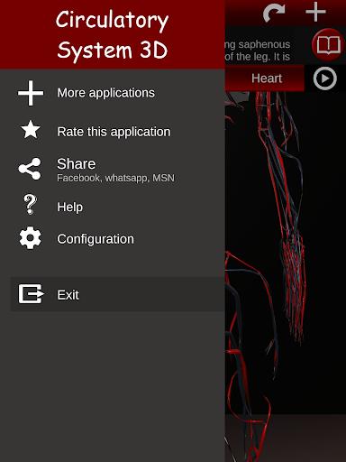 Circulatory System in 3D Anatomy v1.58 screenshots 14