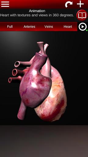 Circulatory System in 3D Anatomy v1.58 screenshots 2