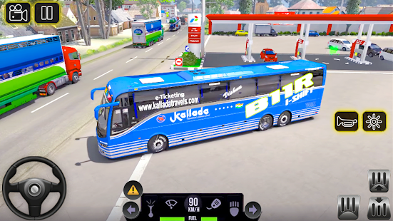 City Coach Bus 2 Uphill Tourist Driver Simulator v1.0 screenshots 13
