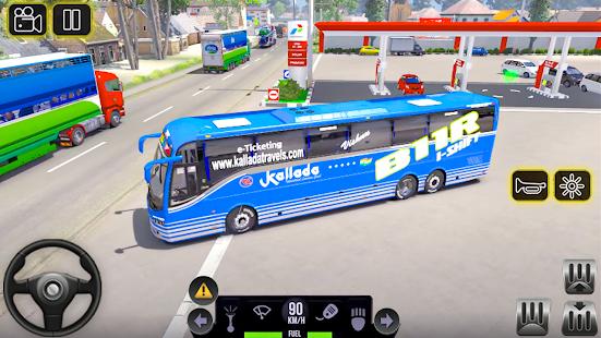 City Coach Bus 2 Uphill Tourist Driver Simulator v1.0 screenshots 5