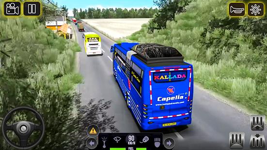 City Coach Bus 2 Uphill Tourist Driver Simulator v1.0 screenshots 9