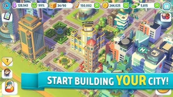 City Mania Town Building Game v1.9.2a screenshots 1