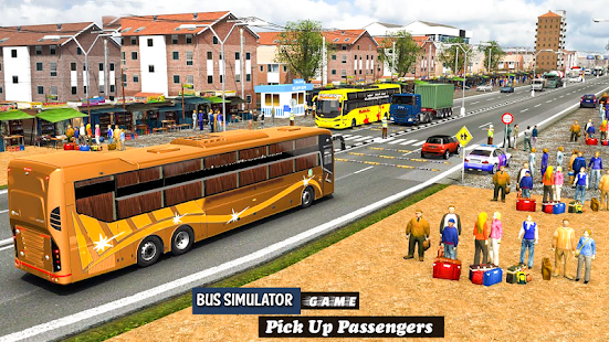 Coach Bus Driving Simulator 2020 City Bus Free v0.1 screenshots 12