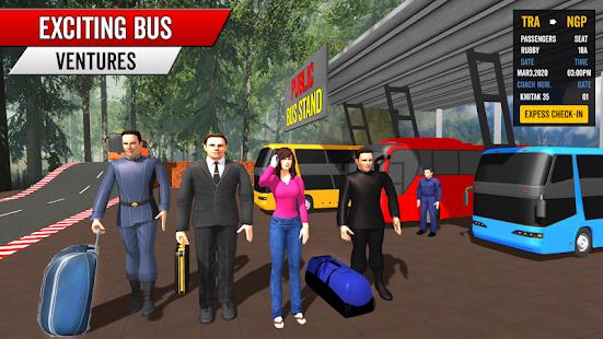 Coach Bus Driving Simulator 2020 City Bus Free v0.1 screenshots 15