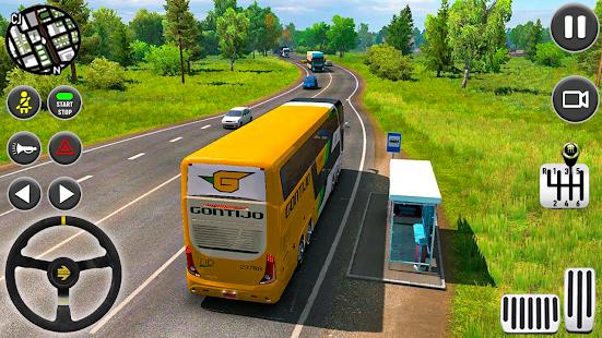 Coach Bus Driving Simulator 2020 City Bus Free v0.1 screenshots 19