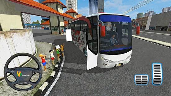 Coach Bus Driving Simulator 2020 City Bus Free v0.1 screenshots 2