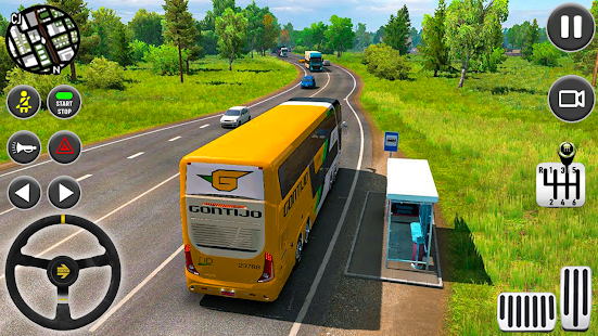 Coach Bus Driving Simulator 2020 City Bus Free v0.1 screenshots 3