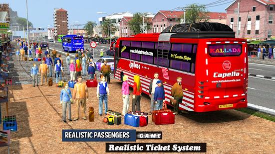 Coach Bus Driving Simulator 2020 City Bus Free v0.1 screenshots 5