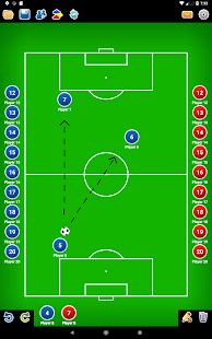 Coach Tactic Board Soccer v1.4 screenshots 12