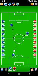 Coach Tactic Board Soccer v1.4 screenshots 4