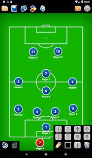 Coach Tactic Board Soccer v1.4 screenshots 5