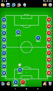 Coach Tactic Board Soccer v1.4 screenshots 8