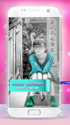 Color Clothes Photo Changer v4.0 screenshots 1