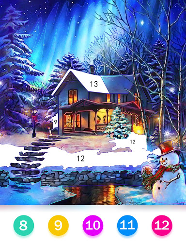 Color by Number – Happy Paint v screenshots 5