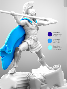 ColorMinis 3D Art Coloring amp Painting Design Game v6.9 screenshots 10