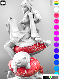 ColorMinis 3D Art Coloring amp Painting Design Game v6.9 screenshots 17